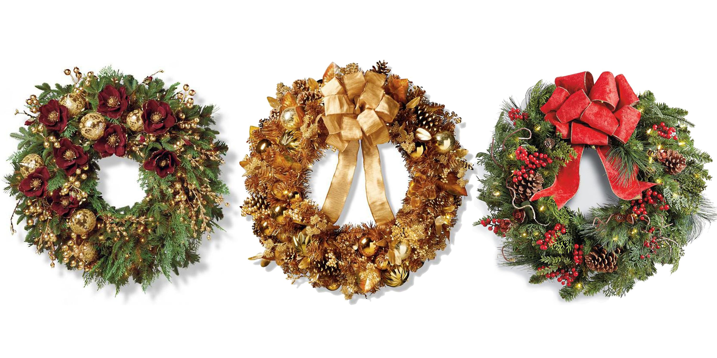 20 Elegant Christmas Wreaths to Buy line 2018 Best Holiday