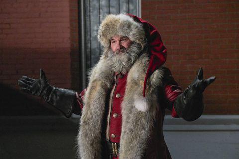 Fur clothing, Fur, Beard, Facial hair, Santa claus, Textile, Fictional character,