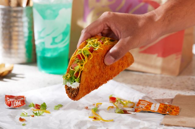 taco bell's toasted cheddar chalupa is back