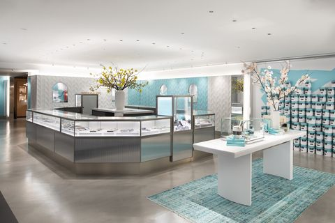tiffany new flagship interior