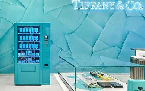 Aqua, Turquoise, Blue, Product, Turquoise, Room, Furniture, Architecture, Interior design, Shelf,