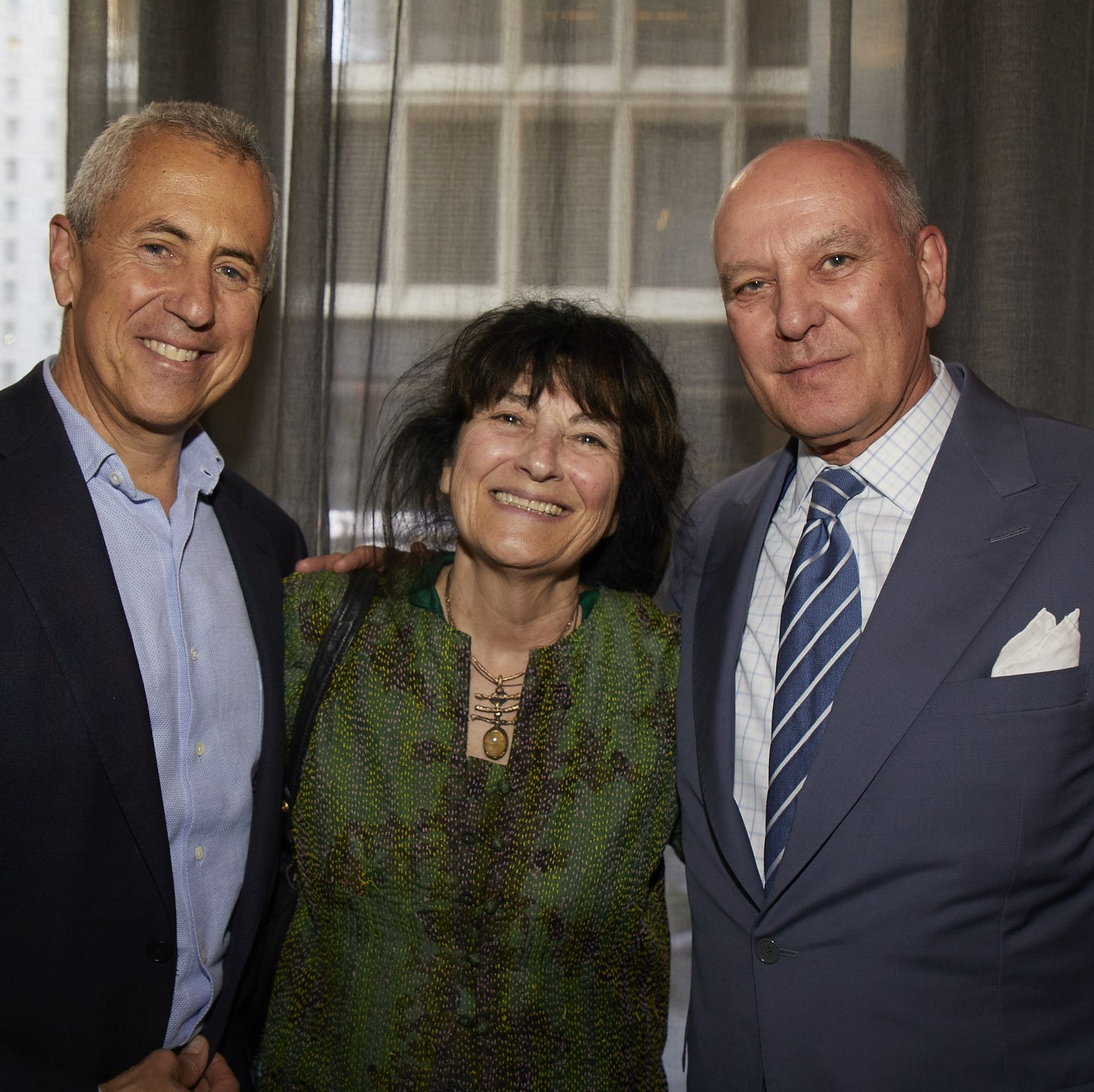 Something was cooking at the Four Seasons Restaurant in Manhattan on May 21, and it wasn't just in the kitchen. That evening, Town & Country editor in chief Stellene Volandes hosted a party in honor of T&C contributing editor Ruth Reichl and her latest book, Save Me the Plums .