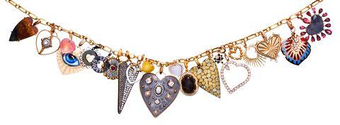 Necklace, Jewellery, Fashion accessory, Body jewelry, Chain, Gemstone, Neck, Jewelry making, Choker, Metal,