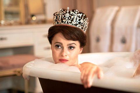 Helena BonhamCarter in The Crown