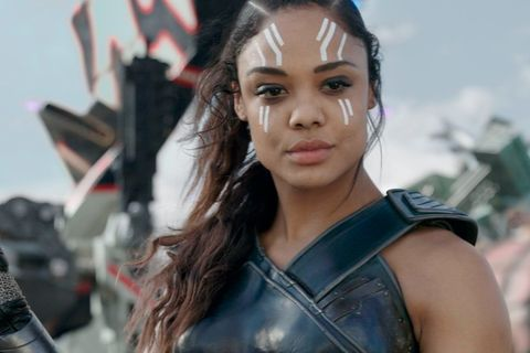 2017 thor ragnarok for her marvel universe debut, thompson played a warrior named valkyrie