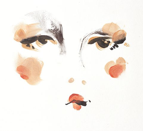 Face, Nose, Illustration, Head, Eyebrow, Cheek, Lip, Cartoon, Drawing, Art,