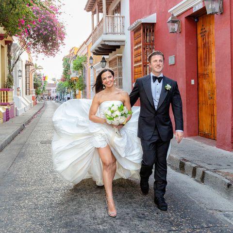 kate falchi cartagena wedding