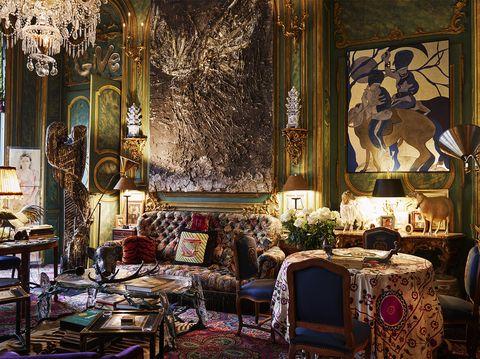 Inside Countess Isabelle D Ornano S Eclectic Paris Apartment