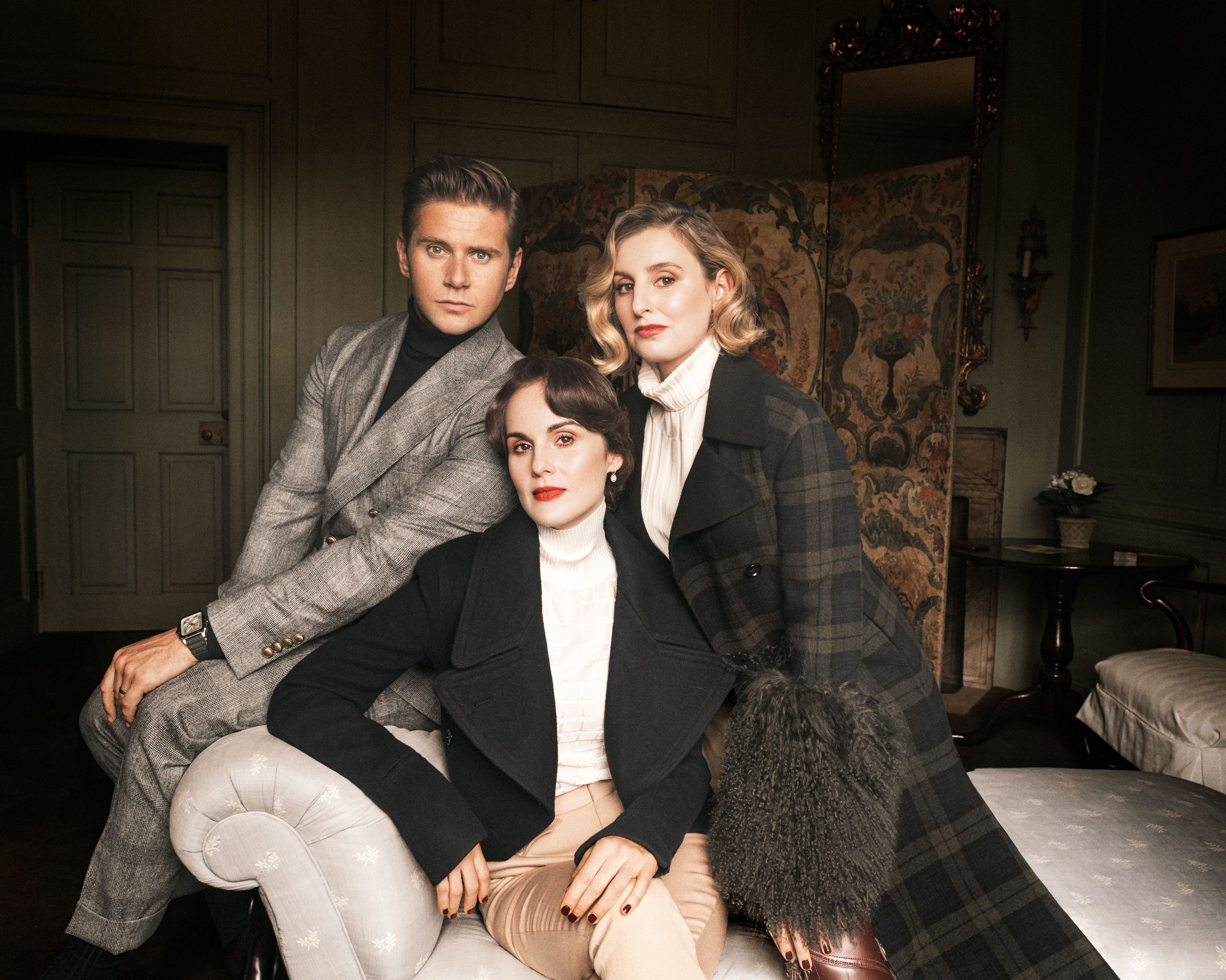 Michelle Dockery, Allen Leech, and Laura Carmichael's Grand Return to Downton Abbey