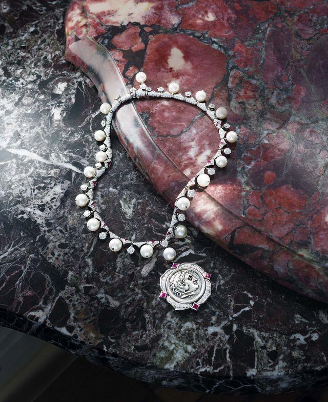 bulgari, necklace, jewelry, rome