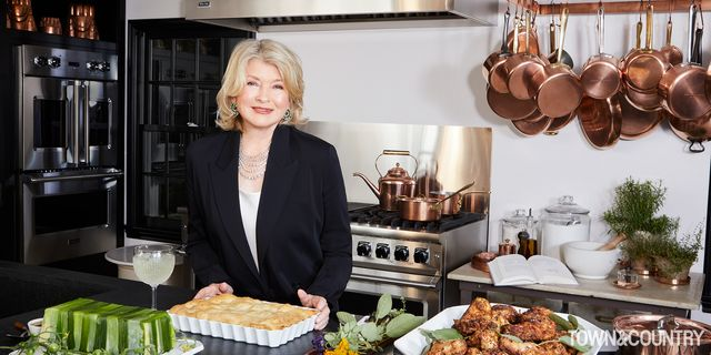 martha stewart recreates the town  country cookbook