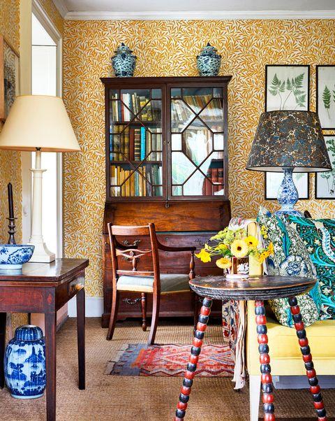 ben pentreath living room