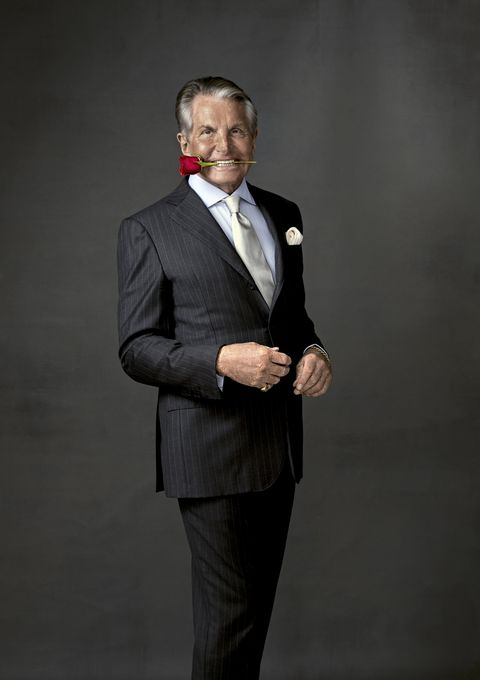 George Hamilton in Town &Country