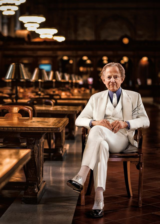 tom wolfe at the new york public library