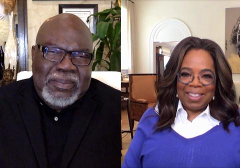 bishop td jakes and oprah