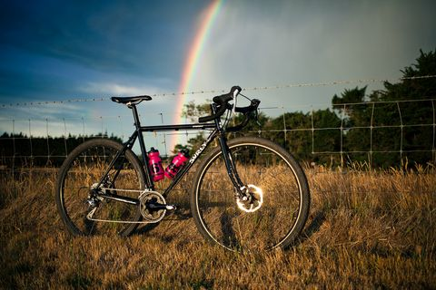 surly bike and rainbow