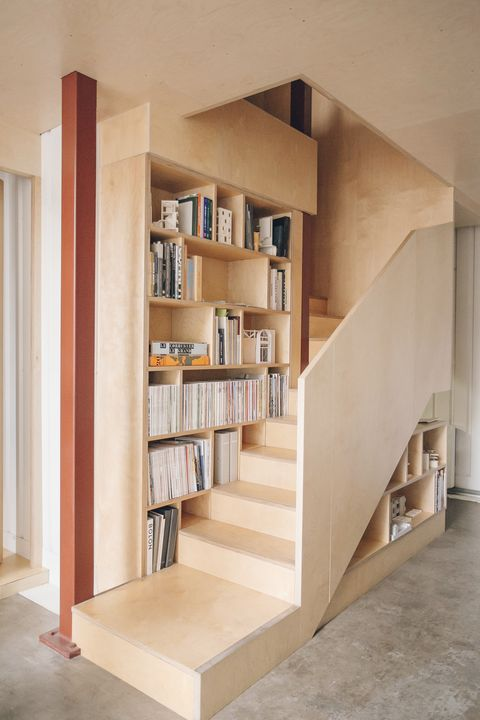 Smart storage in a staircase by TDO architecture