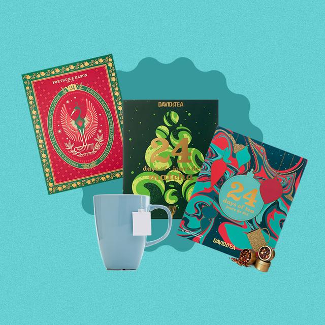 collage of best tea advent calendars