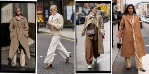 how to wear beige and brown