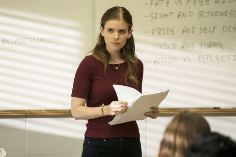 """a teacher """"episode 4"""" airs tuesday, november 17     pictured kate mara as claire wilson cr chris largefx"""