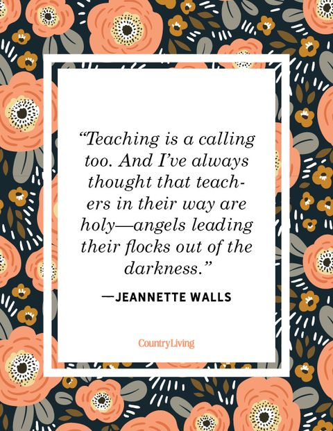 teacher quote jeannette walls