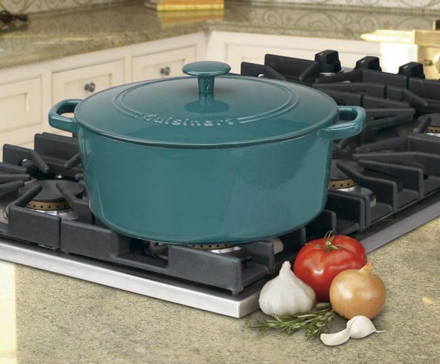 The Prettiest Cuisinart Dutch Ovens And Frying Pans Are Nearly 50 Percent Off On Amazon Today