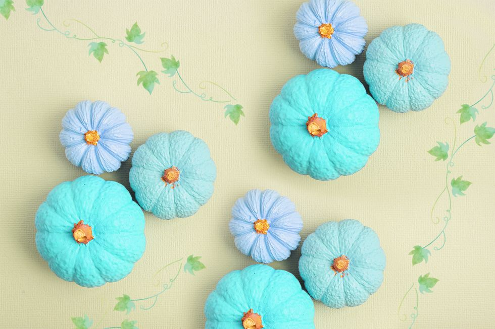The Important Hidden Meaning Behind Teal Pumpkins Displayed on Halloween
