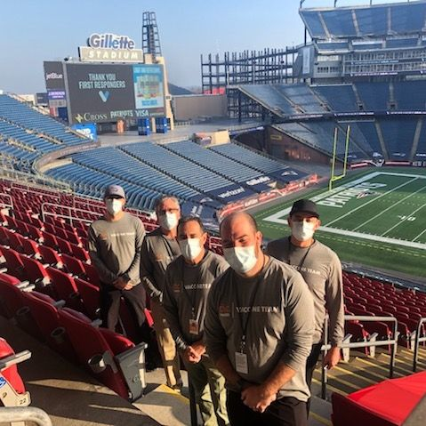 race organizer dmse sets up vaccination operations at gillette stadium