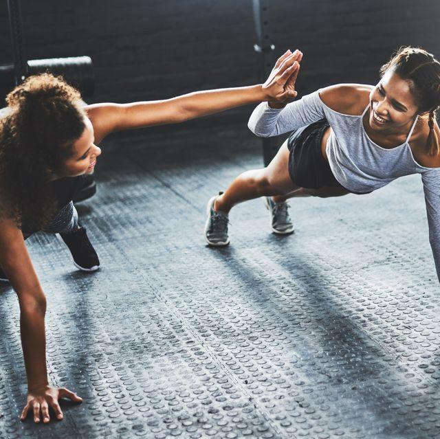 teamwork makes the workout work