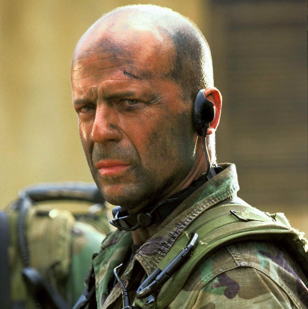 Tears of the Sun This Antoine Fuqua-directed action film stars Bruce Willis as a U.S. Navy SEAL lieutenant who leads a team on a rescue mission in war-torn Nigeria to save a doctor and a group of refugees who are trapped in a hospital in the middle of the jungle.