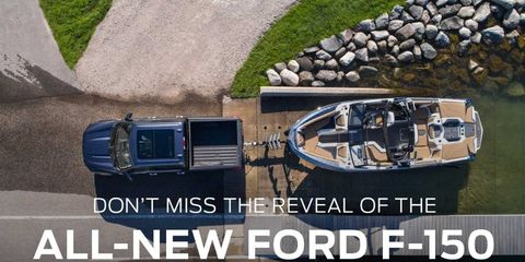 2021 ford f 150 reveal teaser