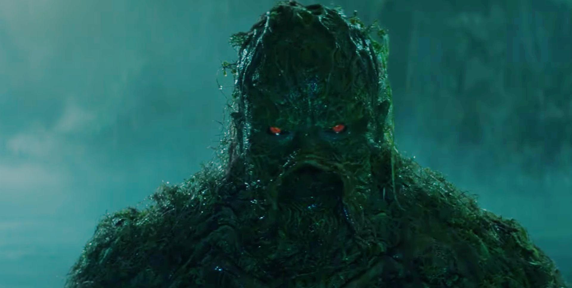 teaser trailer swamp thing cosa del pantano