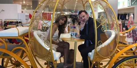There s now an afternoon tea in a cinderella carriage Cinderella afternoon tea