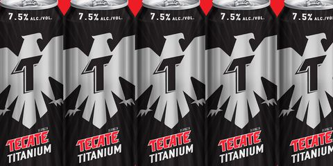 Tecate Made A 24-oz Can Of Beer That Has TWICE The Amount Of Alcohol