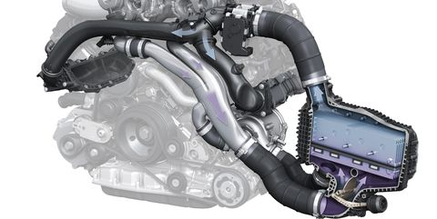 Electric-Powered Compressor Audi