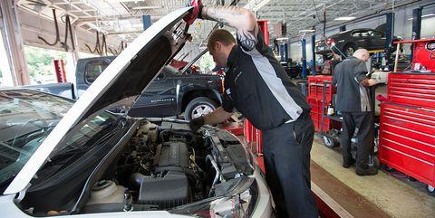 GM repair shop