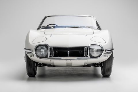 Land vehicle, Vehicle, Car, Coupé, Sports car, Classic car, Toyota, Toyota 2000gt, Automotive design, Sedan,