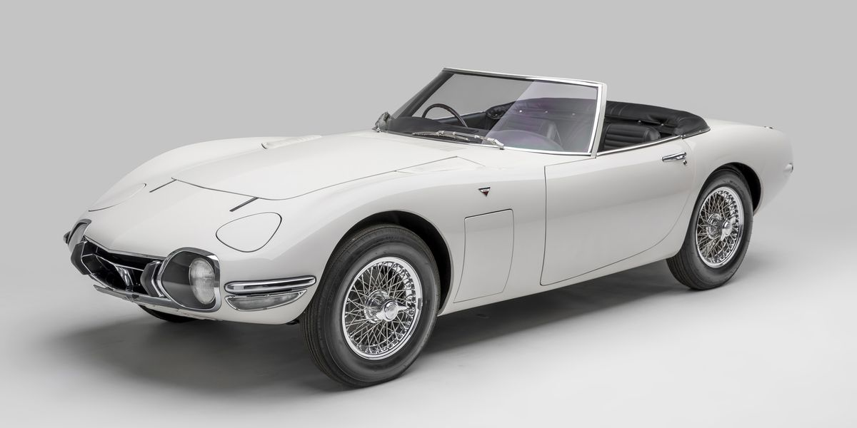 Car Auction Apps >> The Toyota 2000GT Roadster That Saved James Bond
