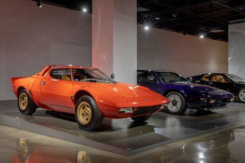the petersen supercar exhibit