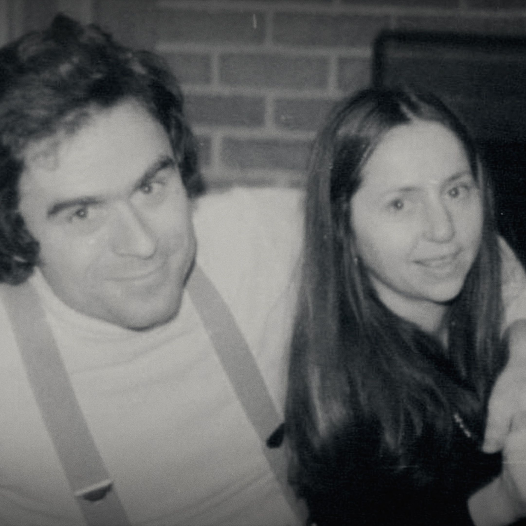 Bundy and his one-time girlfriend, Elizabeth Kendall.