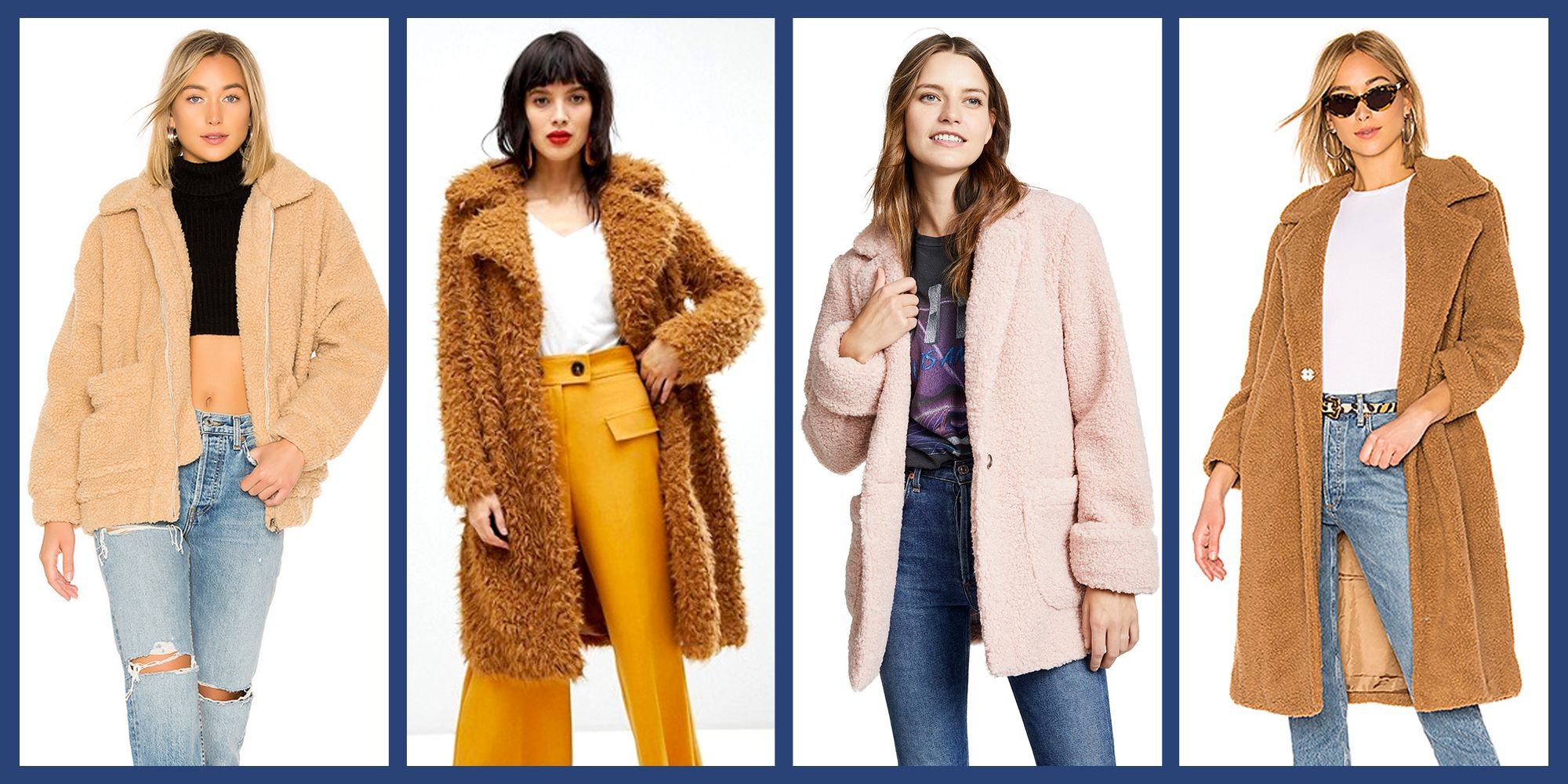 18 Best Teddy Bear Coats for Fall 2019 , Chic and Cozy Teddy