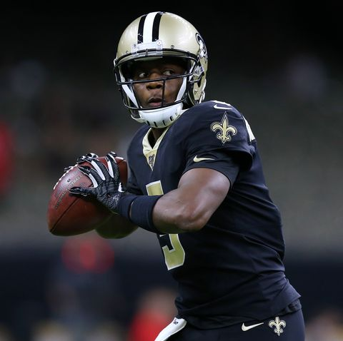 Saints Quarterback Teddy Bridgewater Rides His Bike to Games