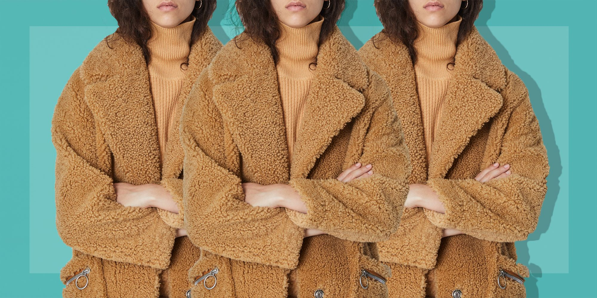 Teddy Coats Are the Coziest Thing to Happen to Outerwear