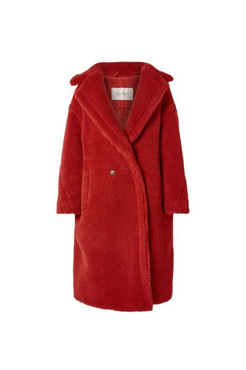 Clothing, Outerwear, Red, Coat, Sleeve, Maroon, Overcoat, Robe, Jacket, Hood,