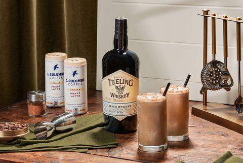 teeling whiskey x la colombe irish coffee kit