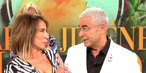 María Patiño y Jorge Javier Vazquez