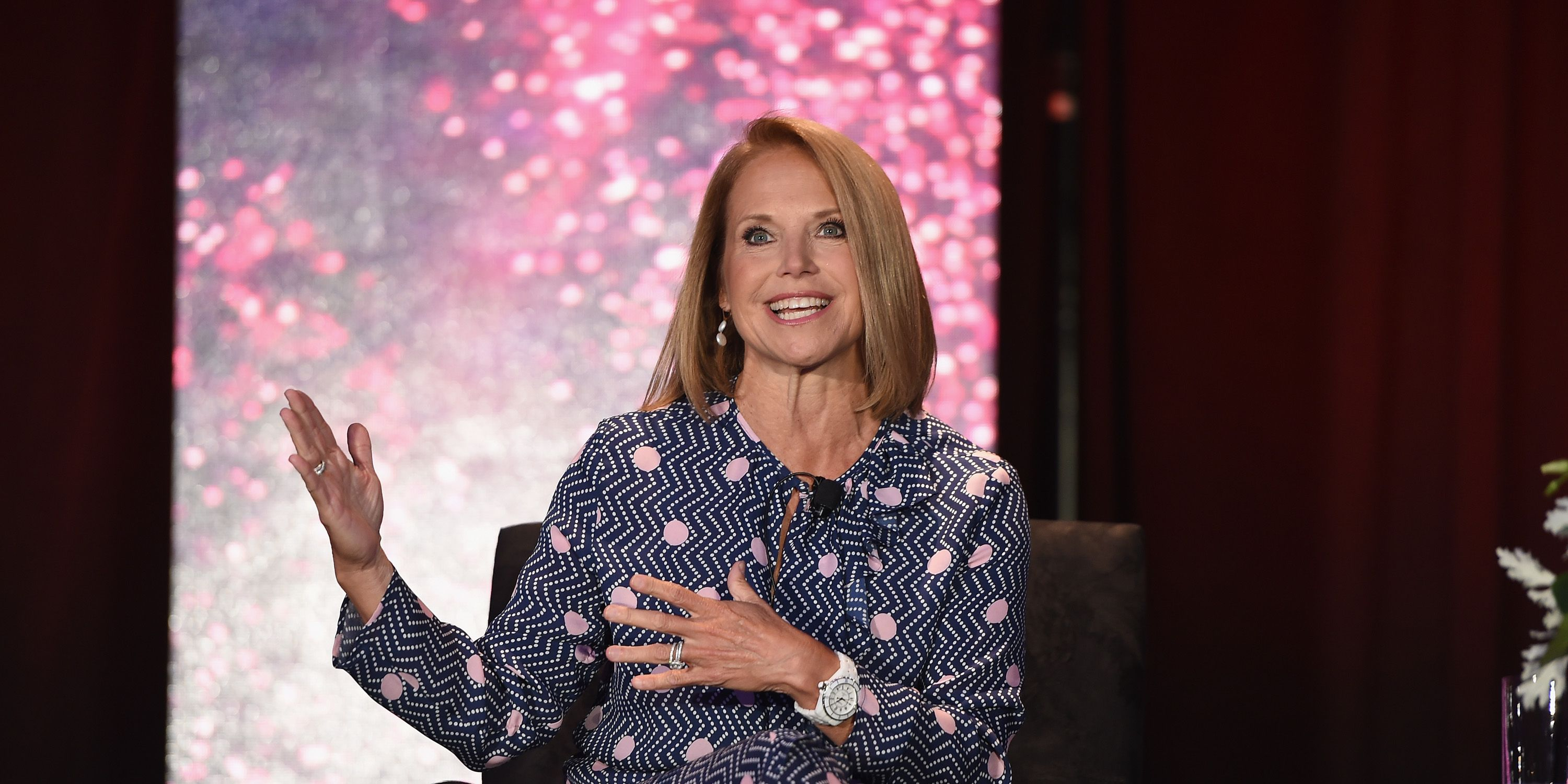 Katie Couric speaking at the WICT Leadership Conference - Day 1