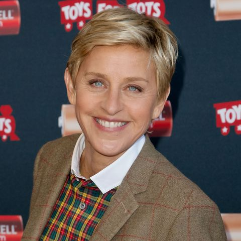 Ellen DeGeneres Kicks Off Duracell/Toys For Tots Initiative 'Power A Smile' Campaign