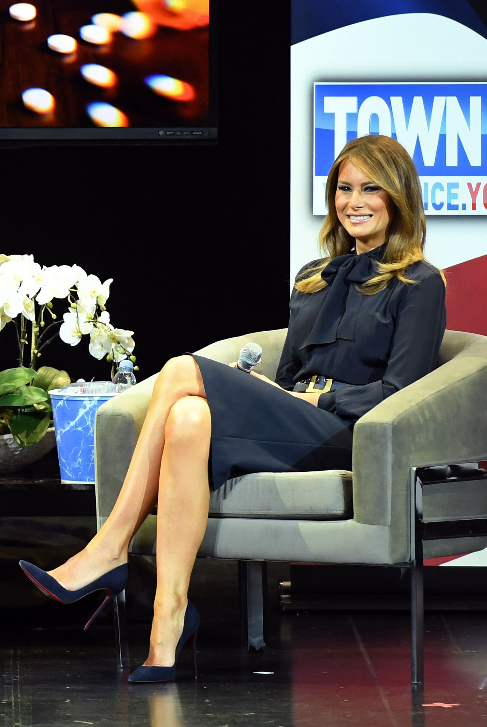 First Lady Melania Trump Holds Las Vegas Town Hall Meeting On The Opioid Crisis