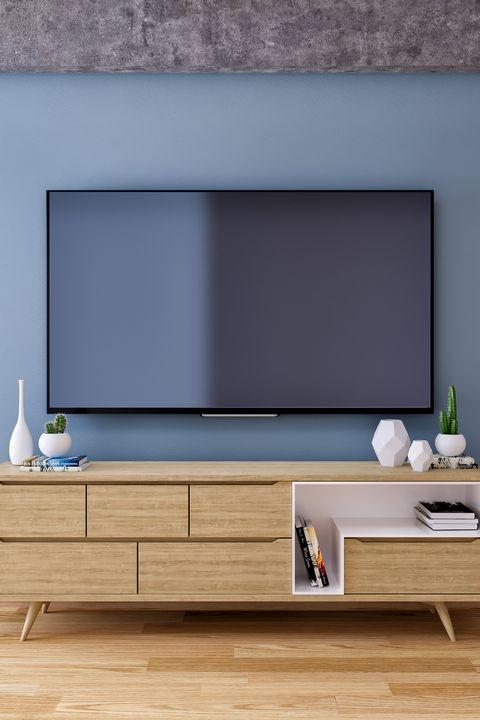 television set at home